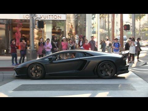Supercars of Beverly Hills 3rd Edition!  Ferrari LaFerrari, Lamborghini Aventador, Bugatti Veyron!!
