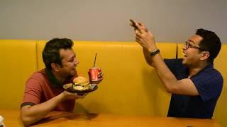FOOTPATH FOOD VS FAST FOOD || FoodHackers behind the seen