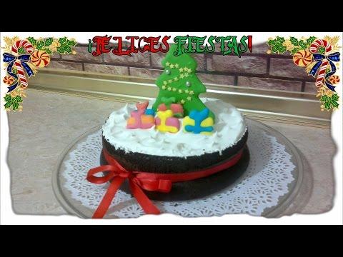 Bizcocho de chocolate para navidad | Recetas para Navidad | Cocina de Martina