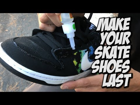 MAKE YOUR SKATE SHOES LAST LONGER !!! - NKA VIDS -