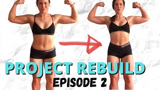 Project Rebuild Episode 2 - Home Glute Workout, Boat Trips, Progress Update