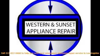 Appliance Repair Los Angeles 213-817-5668