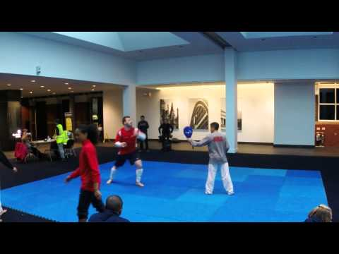 Team USA Taekwondo training for the 2013 World Grand Prix Image 1