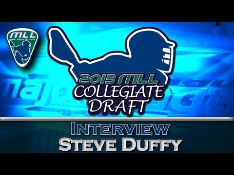 Boston Cannons' Head Coach Steve Duffy MLL Draft Interview