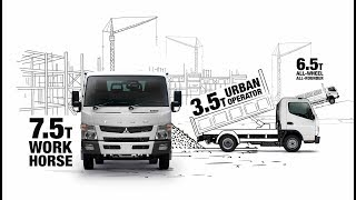 FUSO Canter 3.5t, 4x4, 7.5t, 8.5t and Hybrid Trucks