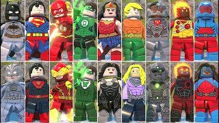Justice League Vs. The Crime Syndicate in LEGO DC Super-Villains (Comparison)