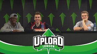 Miniminter, ChrisMD & Tobjizzle - Open Q&A (Upload Event 2016 Saturday)