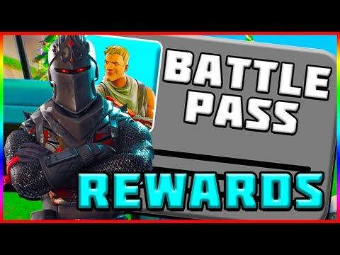 ALL BATTLE PASS REWARDS! Fortnite Battle Royale   Season 2