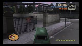 Grand Theft Auto 3 PS2 Mission #13 The Crook