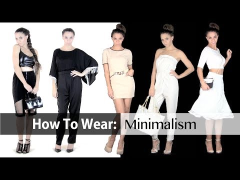 Spring Fashion Trends : Minimalism 8 Outfit Ideas