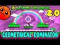 GEOMETRY DASH (2.0) - Geometrical Dominator ALL COINS - Porfin la 2.0 :D
