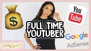 How I Started MAKING MONEY FULL TIME on Youtube! 💰