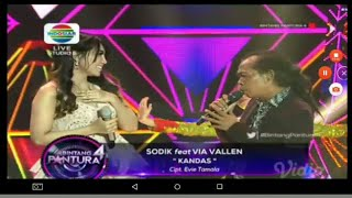 download lagu Duet Romantis  Via Vallen Feat Sodik - Kandas gratis