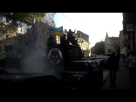 Darth Vader. Ukraine. Lviv City