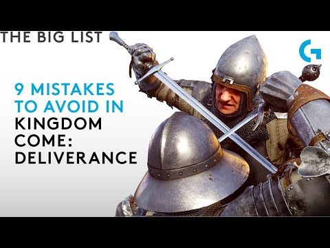 9 mistakes to avoid in Kingdom Come: Deliverance