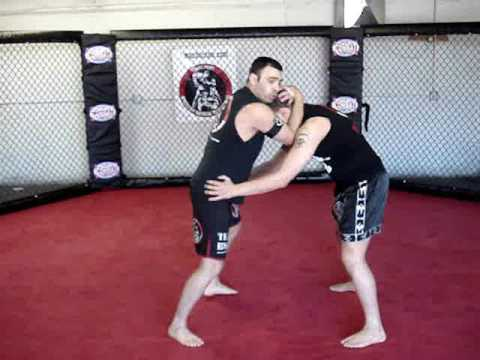 Muay Thai - Combo Knees on Clinch with Go Kick (Tiro de Meta) Image 1