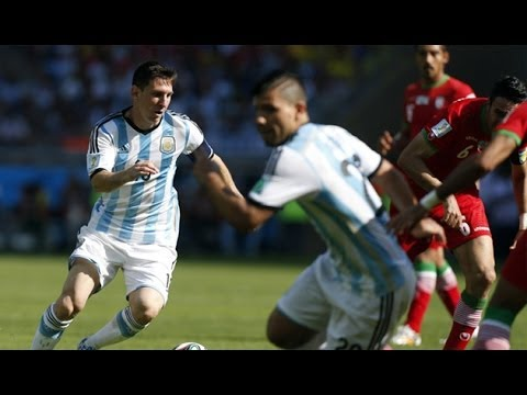 Lionel Messi Amazing Goal - Argentina vs Iran 1-0 World Cup 2014 (21-08-2014) #ARGvsIRN (Graphics)