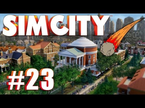Let's Multiplay SimCity (2013) - Ep. 23: METEOR STRIKE!