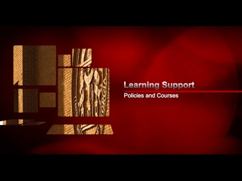 Darton State College Learning Support Policies (Fall 2014)