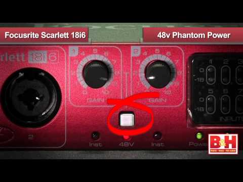 how to set up focusrite scarlett 2i2 with logic