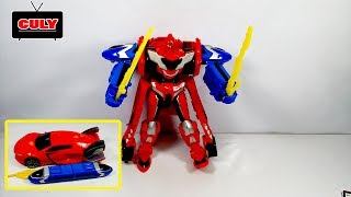 Đồ chơi Robot biến hình tàu điện và siêu xe robot tranformer toy for kids đồ chơi trẻ em