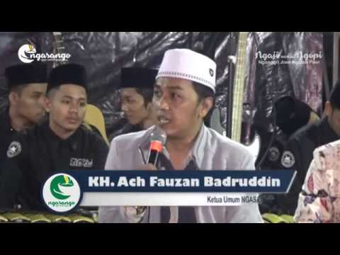 Sambutan KH. Ach Fauzan Badruddin (Ketua Ngasango) #NGASANGO