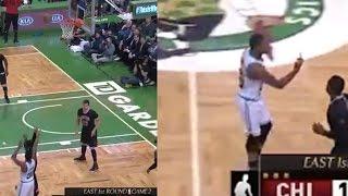 Marcus Smart Gives Celtics Fan the Finger After Missing 3-Pointer