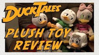DuckTales Plush Toys: Huey, Dewey, Louie, Webby | Review | Comparison
