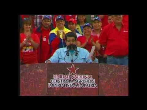 Nicolás Maduro envía un mensaje en inglés a Barack Obama