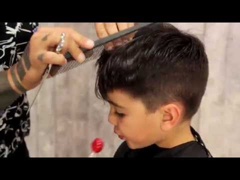 How to give a baby boy a haircut