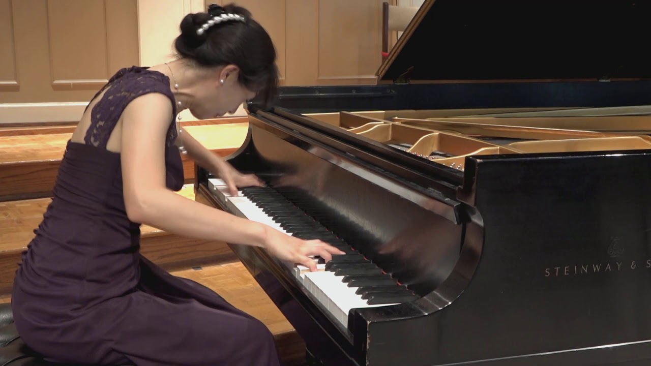 Etude Tableau Op. 39, No. 6 in A Minor by Sergei Rachmaninoff performed by Dr. Rachel KyeJung Park