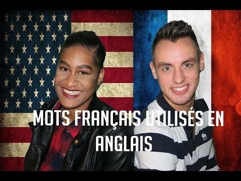 Les mots français utilisés en anglais
