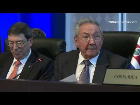 Discurso del Pte. de la República de Cuba Raúl Castro #CumbrePTY