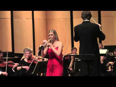 Mary Elizabeth Bowden, trumpet; Haydn Concerto