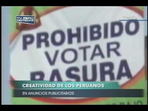 Anuncios publicitarios, creatividad criolla y errores comunicativos en calles peruanas