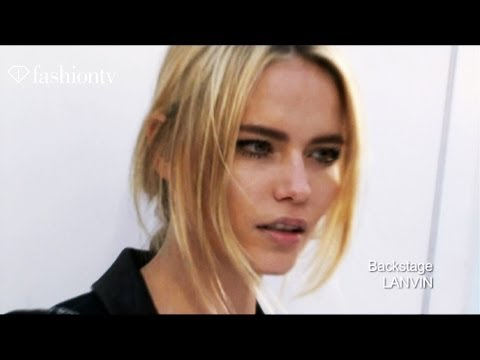 Natasha Poly, Exclusive Interview At Fashion Week - Model Talks | Fashiontv - Ftv video