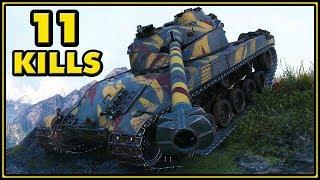Bat.-Châtillon 25 t - 11 Kills - World of Tanks Gameplay
