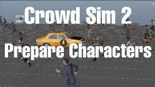 Crowd Simulation Maya
