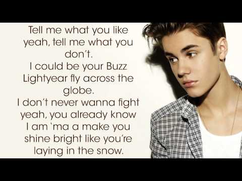 Boyfriend By Justin Bieber - Acoustic Version  + Lyrics video