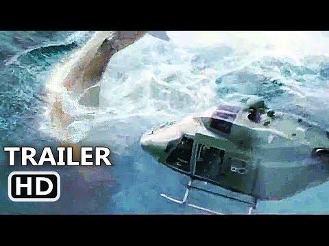 """THE MEG """"Megalodon Vs Helicopter"""" Trailer (NEW 2018) Jason Statham Shark Movie HD thumbnail"""