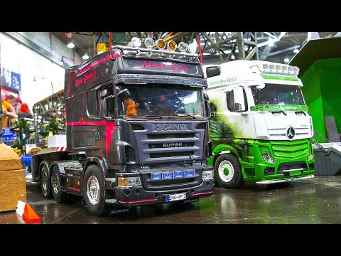 AWESOME RC MODEL TRUCKS IN ACTION! *RC IVECO, RC TRUCK ACTROS, SCANIA, MAN