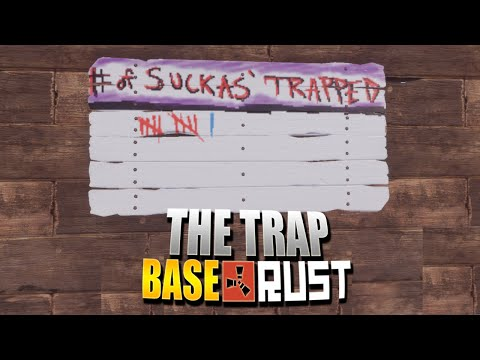 The Trap Base (Rust Group Survival) #2