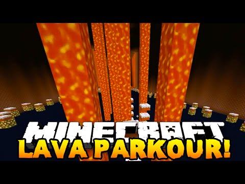 Minecraft LAVA PARKOUR V2! (Custom Parkour Map!) #3 END! w/PrestonPlayz & Kenny