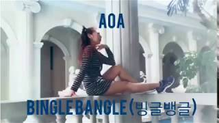 AOA - Bingle Bangle Cover Dance by Alona