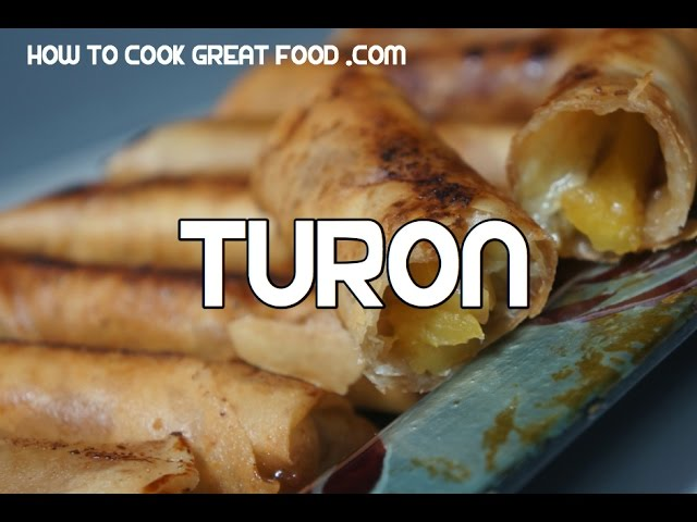 Turon Recipe - Tagalog Pinoy Filipino