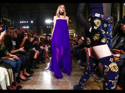 Emilio Pucci F/W 2015. Daria Shapovalova at Milan Fashion Week