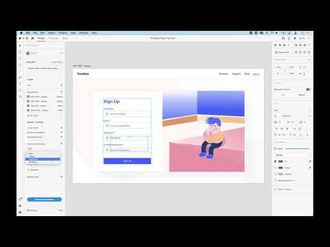 Add Forms and Text Input Fields - Anima for Adobe XD