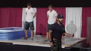Navy SEAL Speaker - David Rutherford Motivational Speaking Promo Short Froglogic