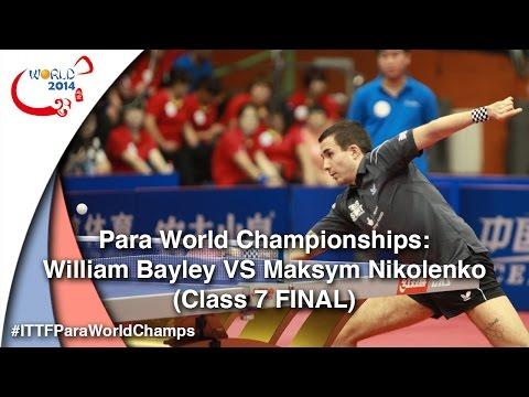 Para World Championships Full Match Bayley VS Nikolenko (Class 7 Finals)