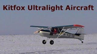Kitfox Ultralight Aircraft, powered by Rotax 503, winter 2017
